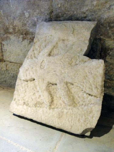 02.01.2020 Fragment llosa sepulcral.  Sant Pere de Ponts -  Jordi Bibià