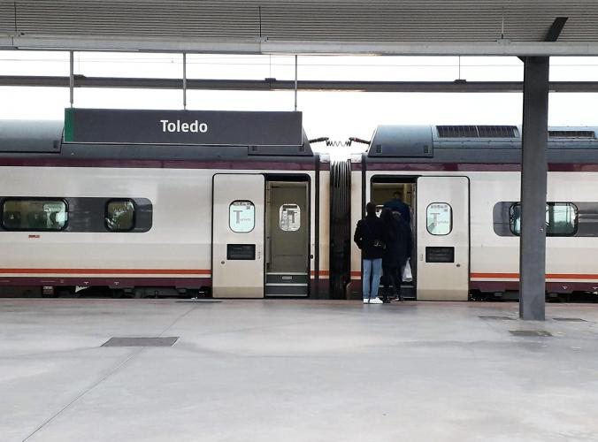 02.01.2020 L'Ave.  Estació de Toledo. -  Jordi Bibià