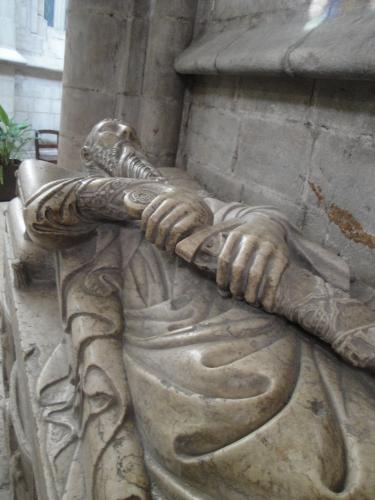 03.01.2020 Escultura sepulcral de Lope Fernández  -  Jordi Bibià