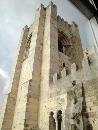 03.01.2020 Una de les torres des de la sala del tresor.  -  Jordi Bibià