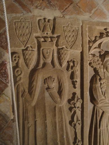 09.01.2020 Llosa sepulcrals d'Eldiarda d'Anglesola.  Vallbona de les Monges. -  Jordi Bibià