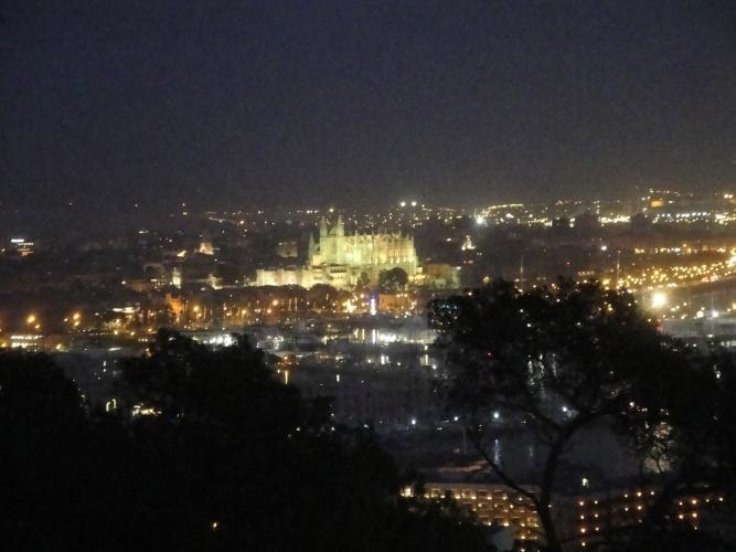 29.01.2020 Vista de la ciutat des de Bellver.  Bellever -  Jordi Bibià