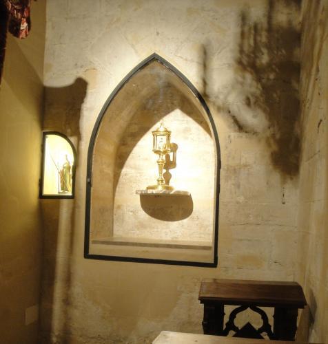 29.01.2020 Capelleta dedicada a Santa Eulàlia.  Sant Francesc. -  Jordi Bibià