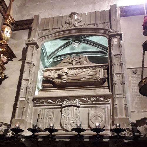 05.02.2020 Sepulcre de Ramon Llull.  Convemt de Sant Francesc -  Jordi Bibià