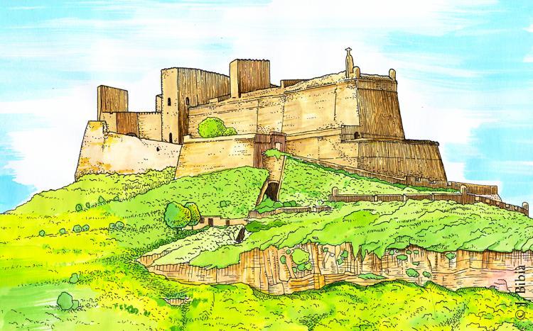 30.05.2020 Castell de Montsó  -  Jordi Bibià
