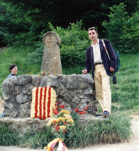 14.10.2020   -  J. Bibià. Montsegur. Any 1993
