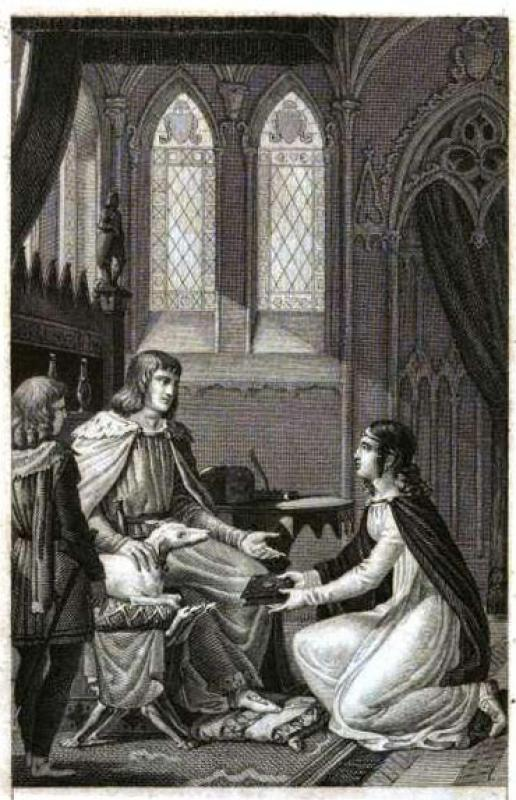 13.03.2021 Maria de França amb el rei d'Anglaterra  -  Autor