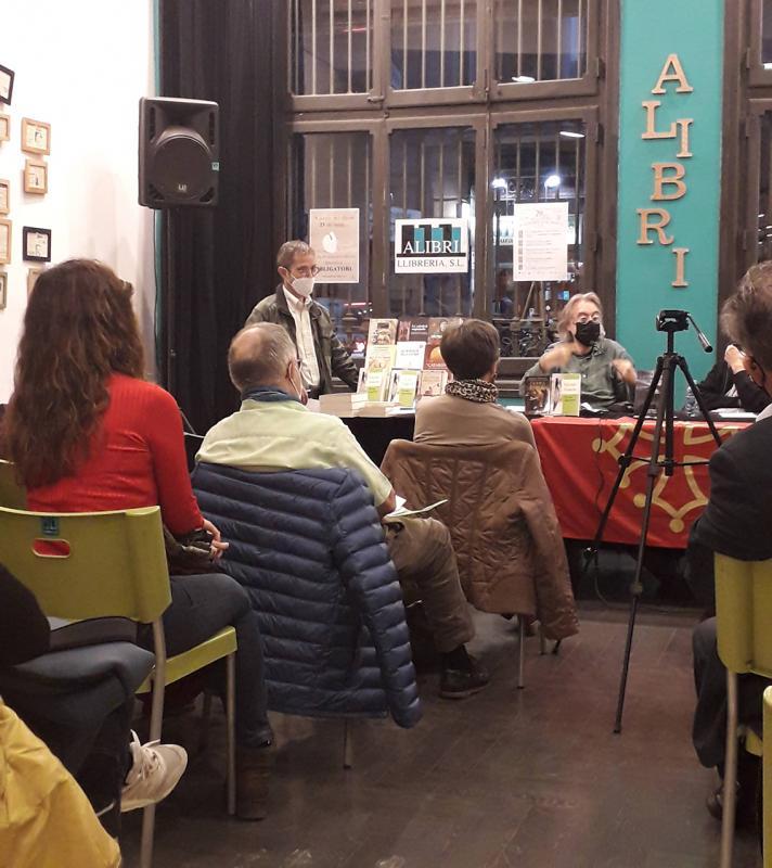26.03.2021 Intervencions de Víctor Amela i Antoni Dalmau.  -  Jordi Bibià