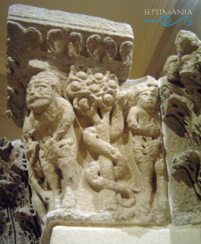 27.03.2021 Capitell del Pilar de Camarasa. 1er terç s. XIII. Sant Miquel de Camarasa.  MNAC -  J. Bibià