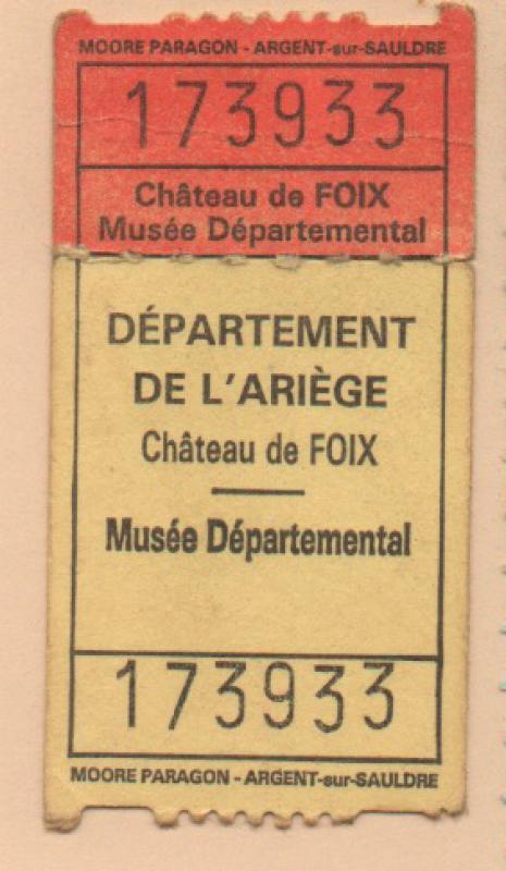 04.04.2021 Entrada,  Foix -  Autor