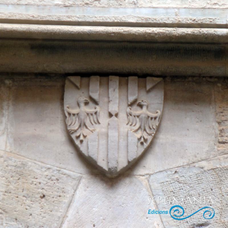 24.05.2021 Escut de Sicília.  Al Palau Reial de Santes Creus -  J. Bibià