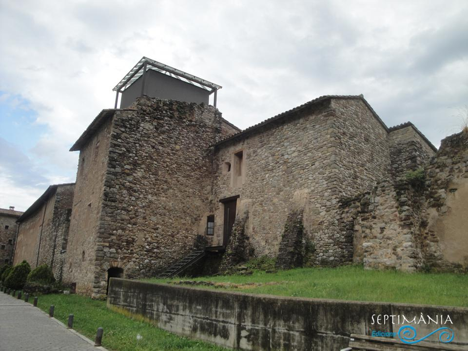 30.05.2021 Part lateral i posterior del castell dels Pinós.  -  J. Bibià