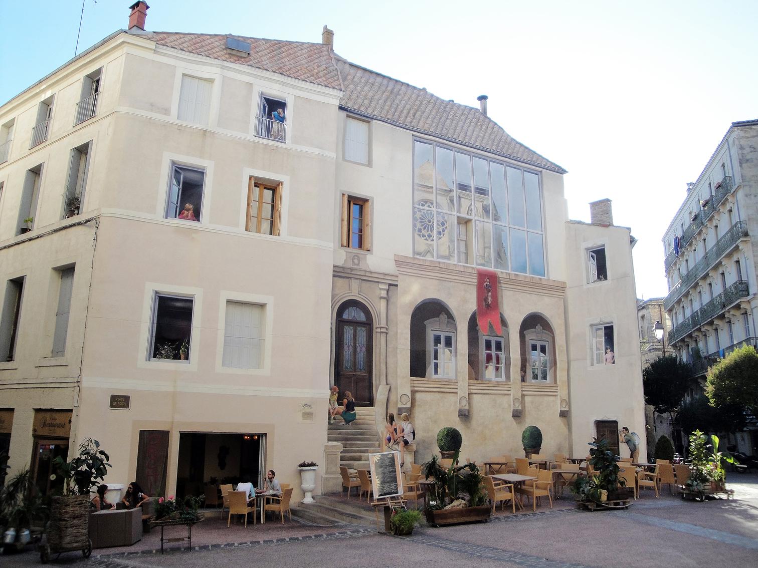 02.10.2009 Altre aspecte de la Plaça de Sant Roc            Montpeller -  Jordi Bibià
