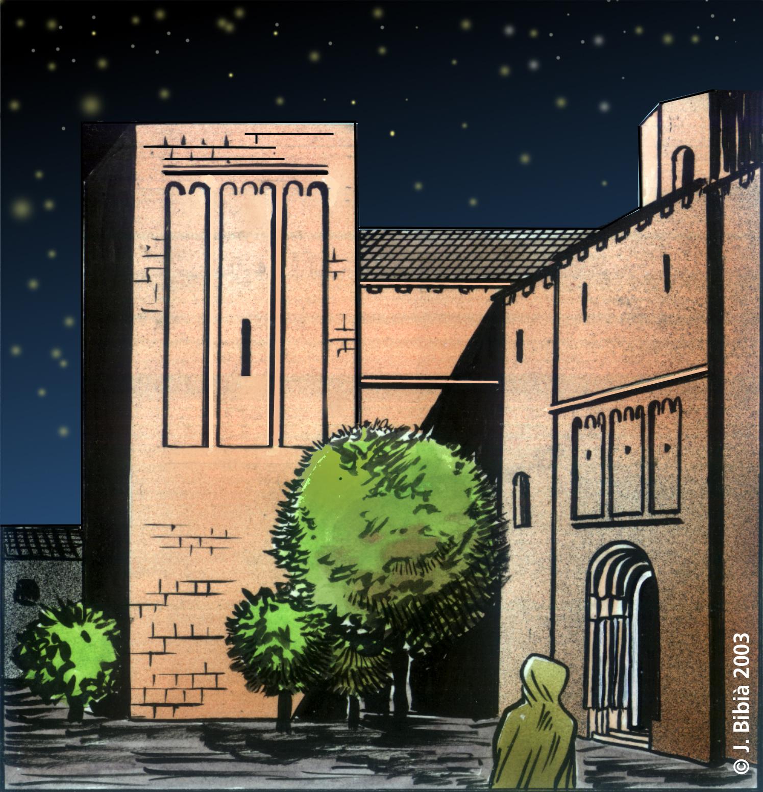 18.08.1998 La Seu d'Urgell. Vinyeta del projecte en còmic 'Cercamón'.  La Seu d'Urgell -  Jordi Bibià