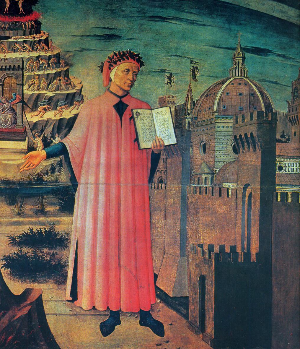 21.08.2010 El gran Dant Alighieri. Admirador de la poesia trobadoresca. Fou gibel·lí, i per tant, contrari de les males arts de França i Roma  -