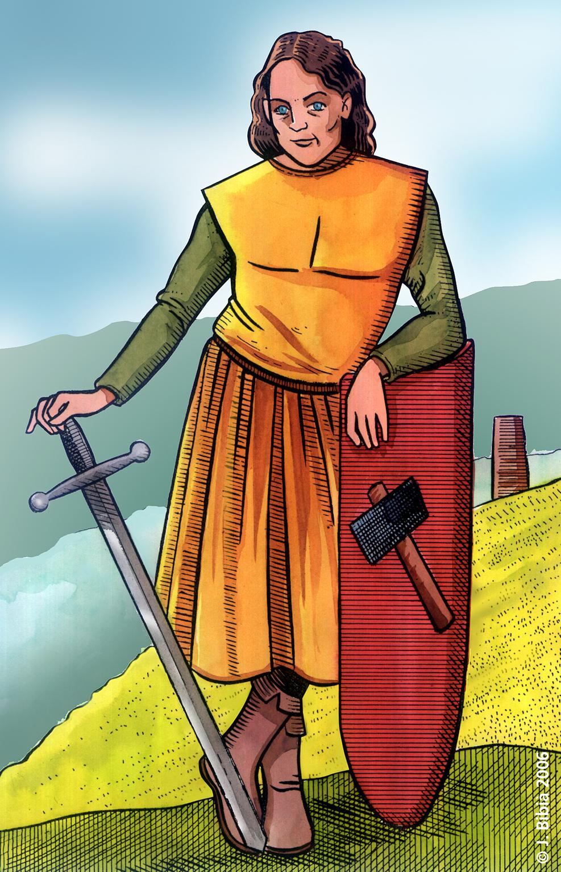 21.08.2010 Guillém de Bergadà, un dels nostres més notables trobadors catalans. En les seves composicions no tenia pels a la llengua, la seva ploma desprenia amor alhora que odi contra els seus enemics. Matà a un Cardona, per la qual cosa s'hagué d'exiliar a les corts castellana, aquitana i fou gran amic del vescomte Arnau de Castellbò, càtar i protector d'aquests. Morí en una brega i no deixà descendents  -  Jordi Bibià