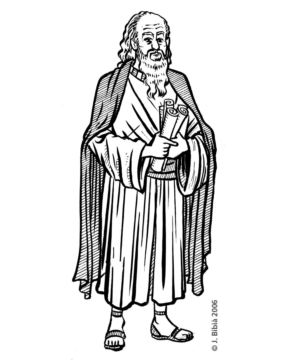 10.05.2004 Sant Pau, juntament amb Sant Joan, foren els apòstols preferits pels càtars  -  Jordi Bibià