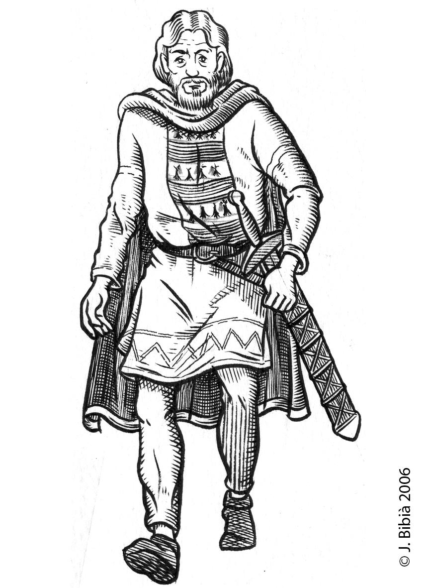 18.05.2004 Xacbert de Barberà. Un dels últims nobles irreductibles que lluità per la independència d'Occitània. Combaté i fou crucial en la presa de Mallorca. Fou un dels últims defensors de Queribús (1252), traït pel qui suposava el seu amic O. de Termes. El desaparegut autor rossellonès, Jordi Coca, ens llegà una excel·lent biografia.                                Rosselló -  Jordi Bibià