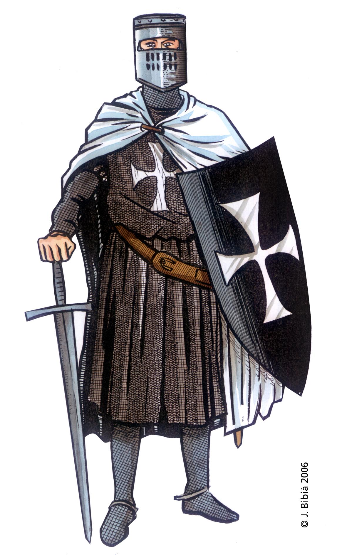 14.05.2004 Cavaller hospitaler. Orde fundada el 1110           Jerusalem -  Jordi Bibià