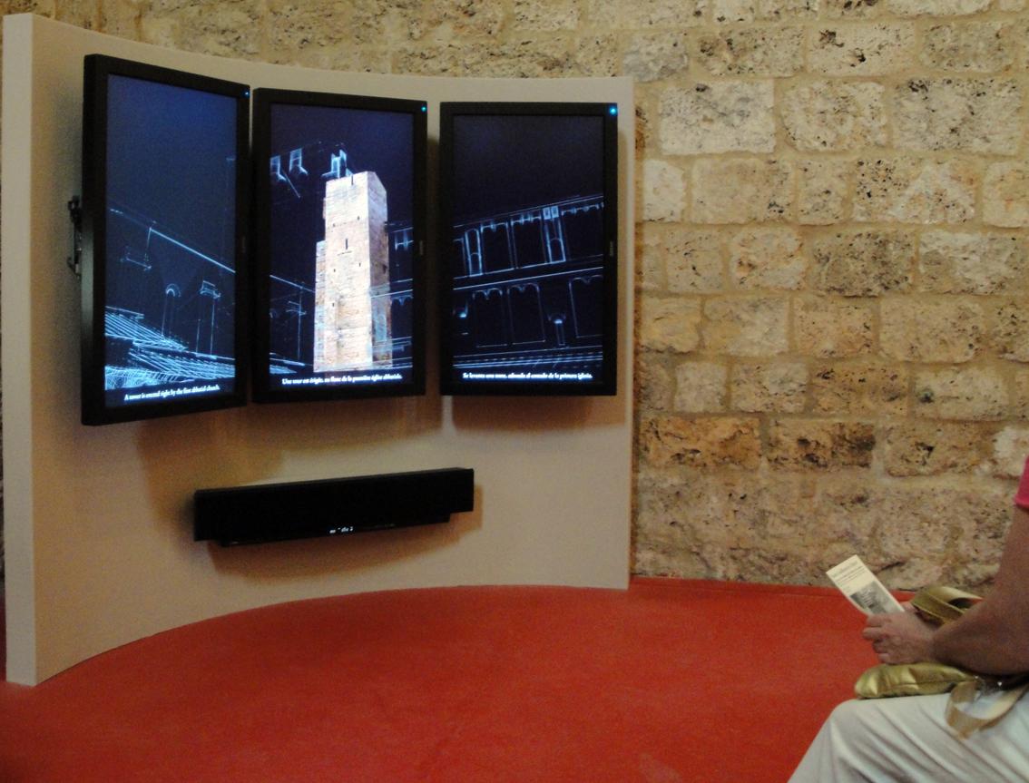05.10.2009 L'audiovisual que hi ha al museu de l'abadia és força interessant         Museu de l'abadia -  Jordi Bibià