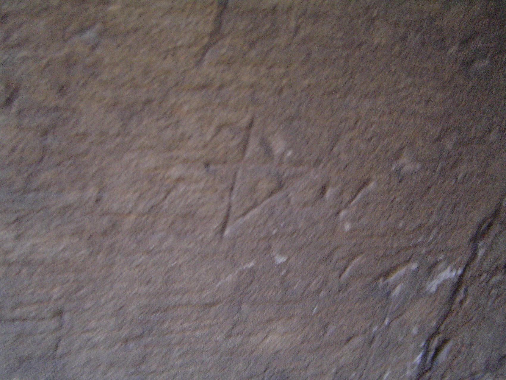 19.03.2009 <strong>Pentagrama</strong> localitzat a l'escala de cargol d'accés al campanar.  Seu Vella de Lleida -  Jordi Bibià