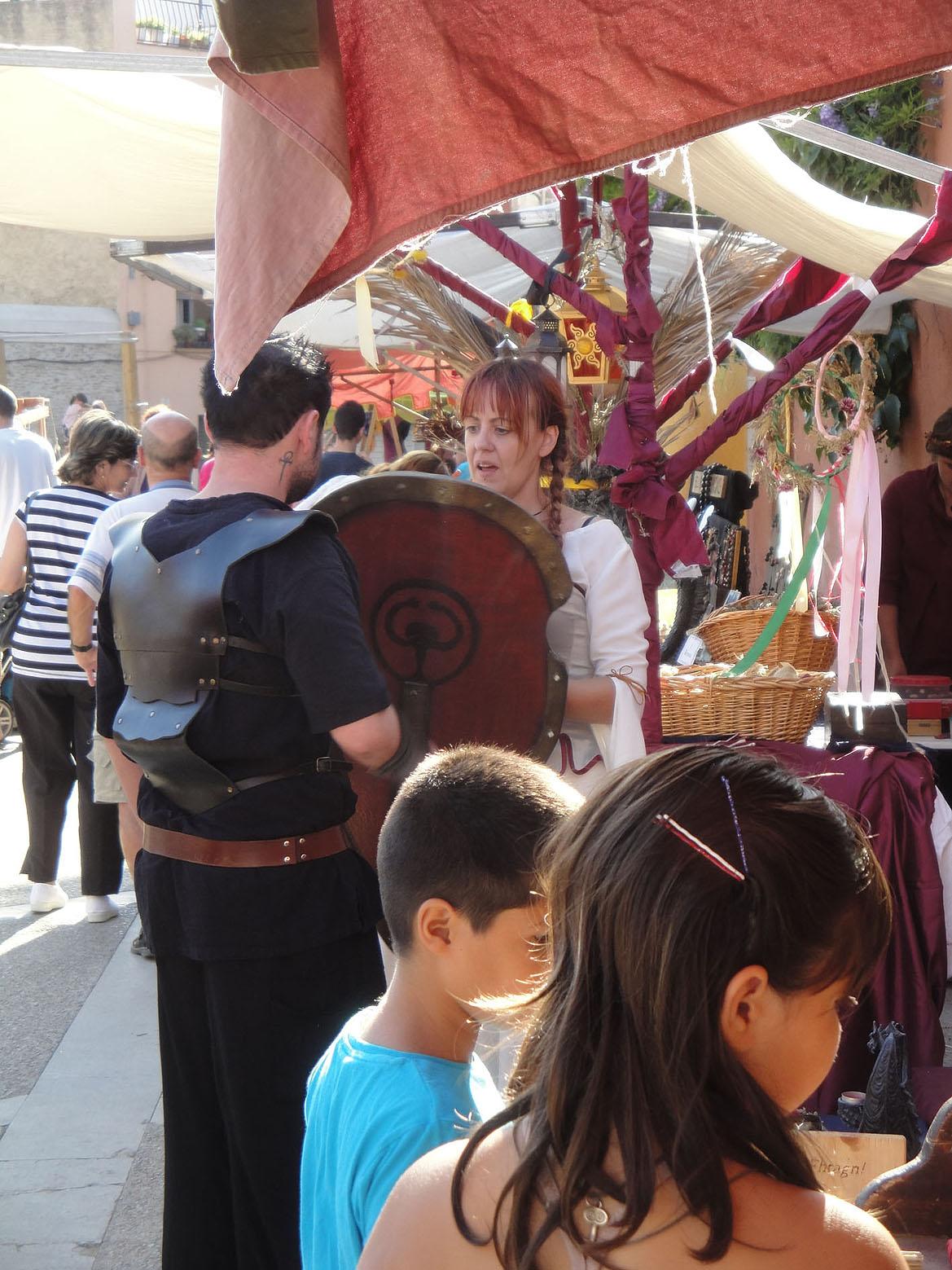 12.09.2010 Una de les nombroses paradetes que vam poder veure a la fira.            Castelló d'Empúries -  Jordi Bibià