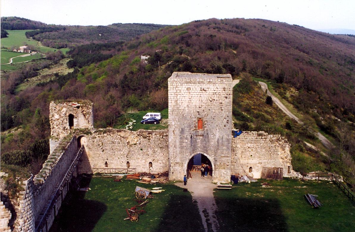 01.02.2011 Castell de Puivert. Residència d'estiu dels Trencavell  Puivert -  Jordi Bibià