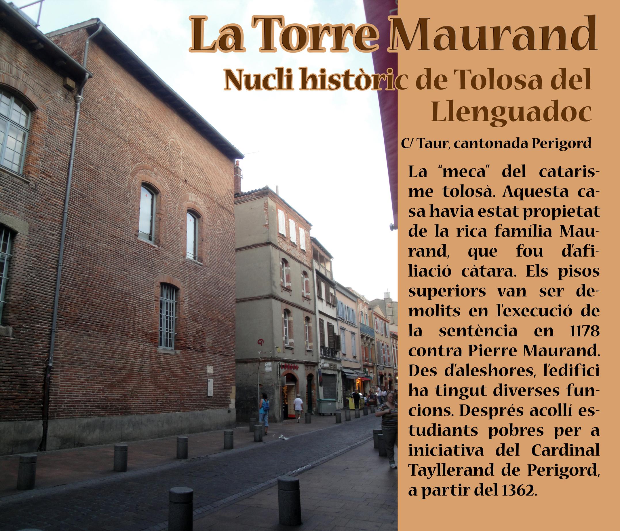 06.09.2011 Un dels pocs testimonis encara presents del catarisme a la ciutat de Tolosa  Tolosa del Llenguadoc -  Jordi Bibià