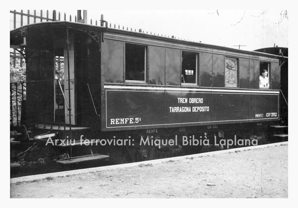 12.10.2013 Vagó del tren obrer de Tarragona  Tarragona -  Miquel Bibià Laplana
