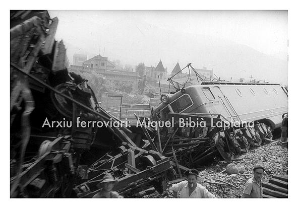 14.10.2013 Accident d'una Alsthom.  Montcada i Reixach -  Miquel Bibià Laplana