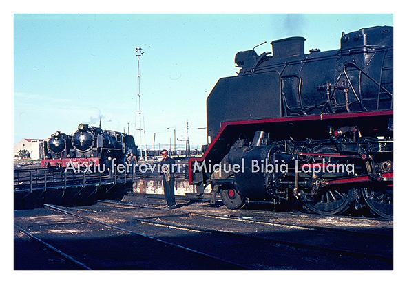 19.10.2013 Vapor a la plataforma giratòria.  Castejón. -  Miquel Bibià Laplana