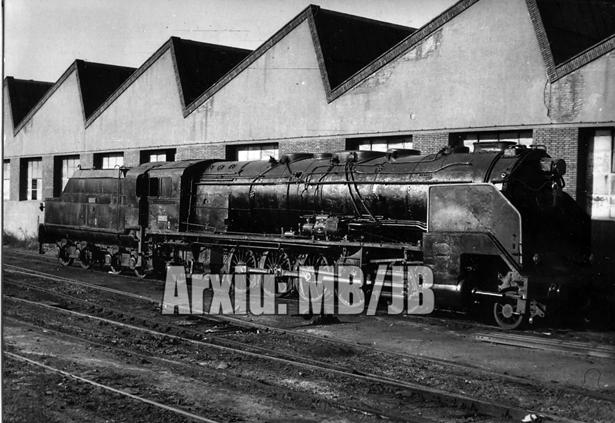 30.11.-0001 Locomotora Santa Fe  Tallers del Poble Nou de Barcelona -  Miquel Bibià