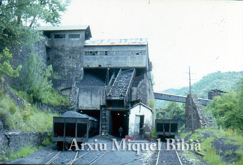 30.11.-0001 Tren miner  Villablino -  Miquel Bibià