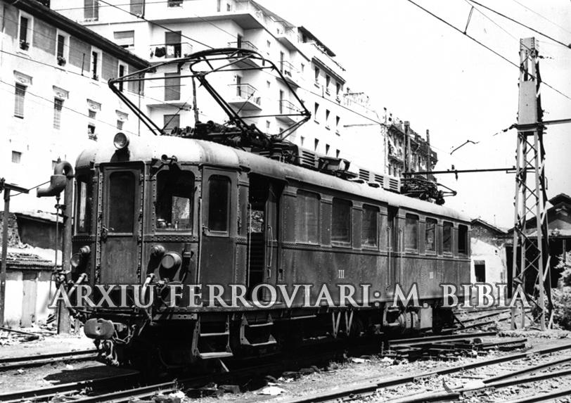 30.11.-0001 Ferrocarriles vascos.  -  Miquel Bibià