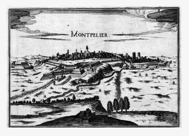 07.09.2014 Montpeller en un gravat del s. XVII  -