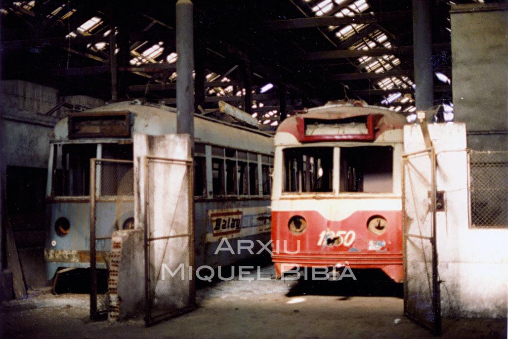 11.10.2014 Antiga cotxera de Sant Martí de Proveçals.  Barcelona. -  Miquel Bibià Laplana