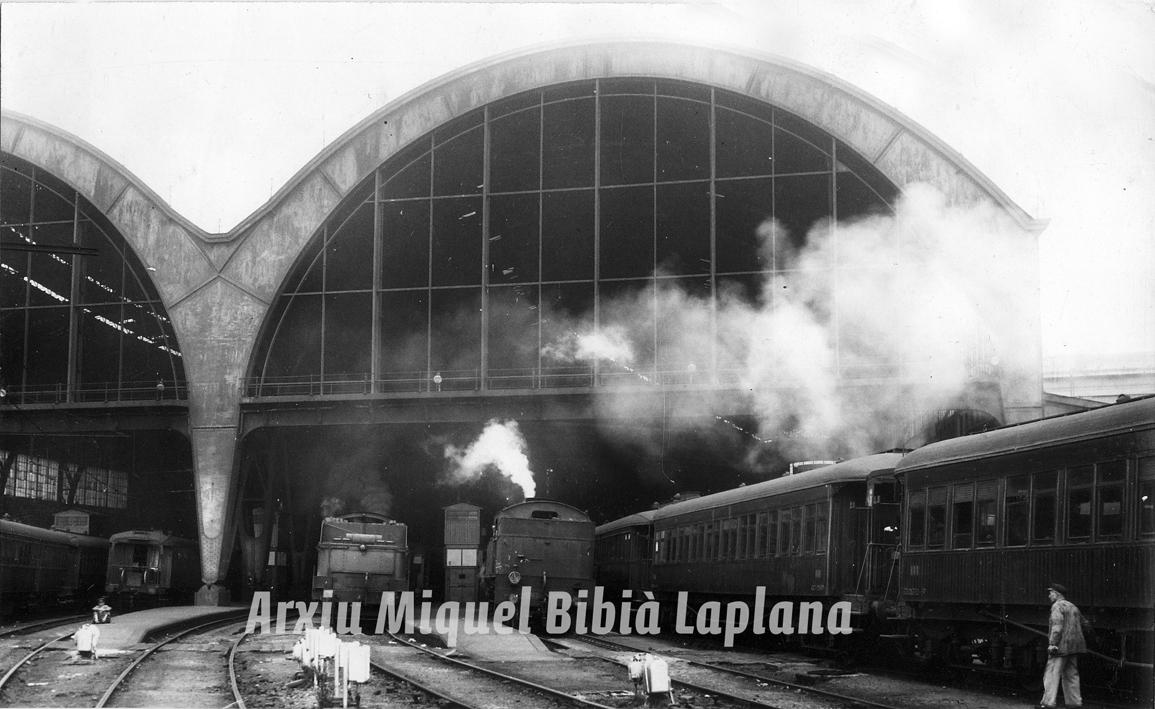 11.03.2016 Vapor a l'Estació de França.  Barcelona -  Miquel Bibià Laplana