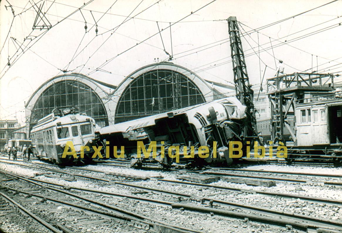 20.08.2016 Accident a l'estació de França  Barcelona -  Miquel Bibià