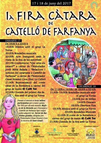 27.11.2017 Cartell de la Fira  Castelló de Farfanya -  Jordi Bibià