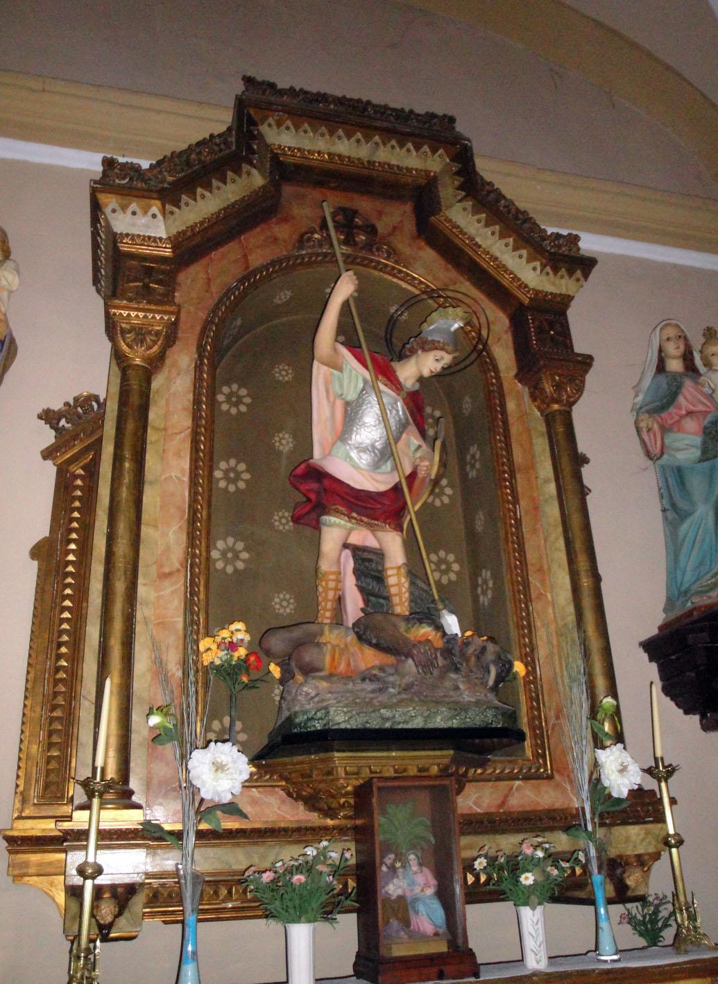 27.11.2017 Sant Miquel. Interior temple.  Castelló de Farfanya. -  Jordi Bibià