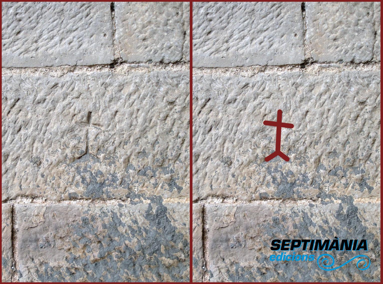 26.05.2018 Creu (sobre el calvari?)  Castell de Bellpuig d'Urgell -  Jordi Bibià