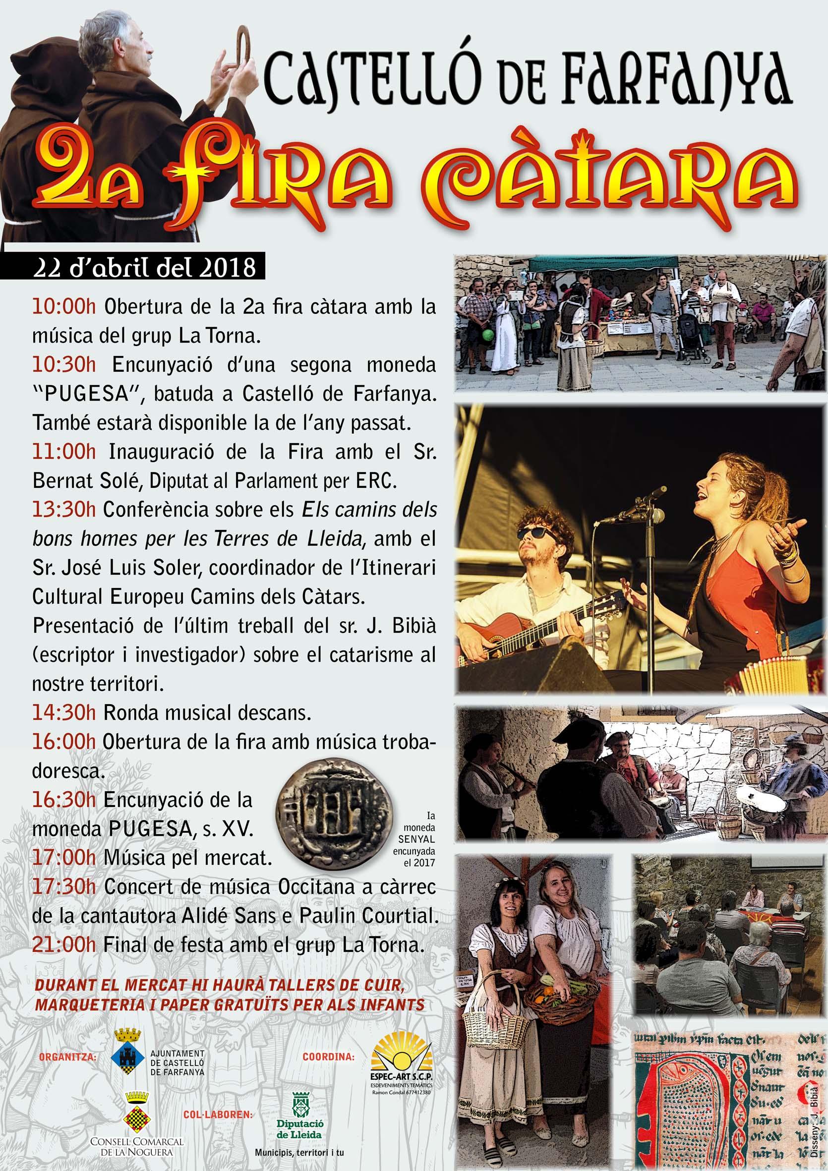 02.08.2018 Cartell de la 2a edició  -  Jordi Bibià