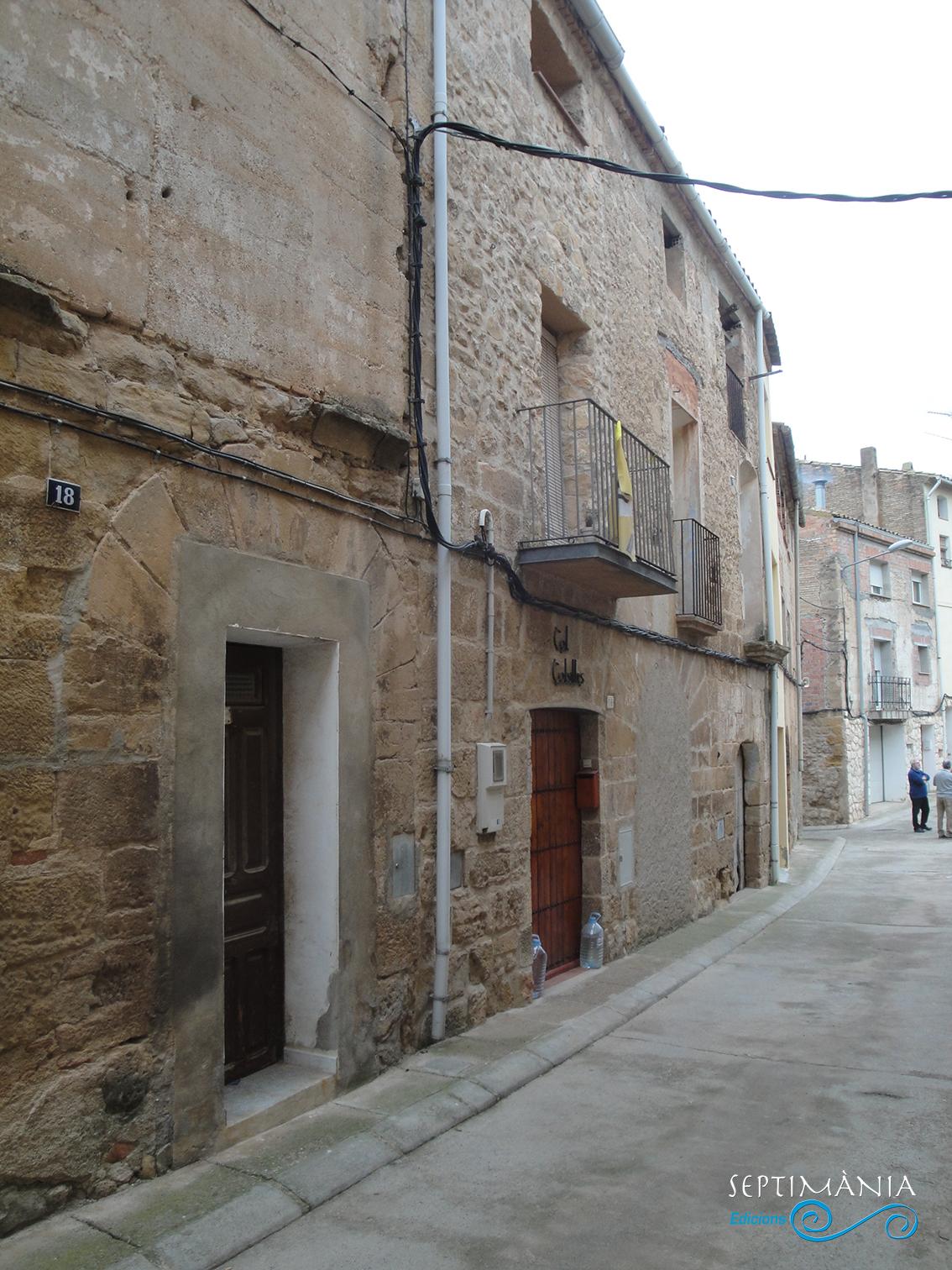 22.04.2019 Alguna de les cases nobles del renaixement al centre de la vila.  La Granadella. -  Jordi Bibià