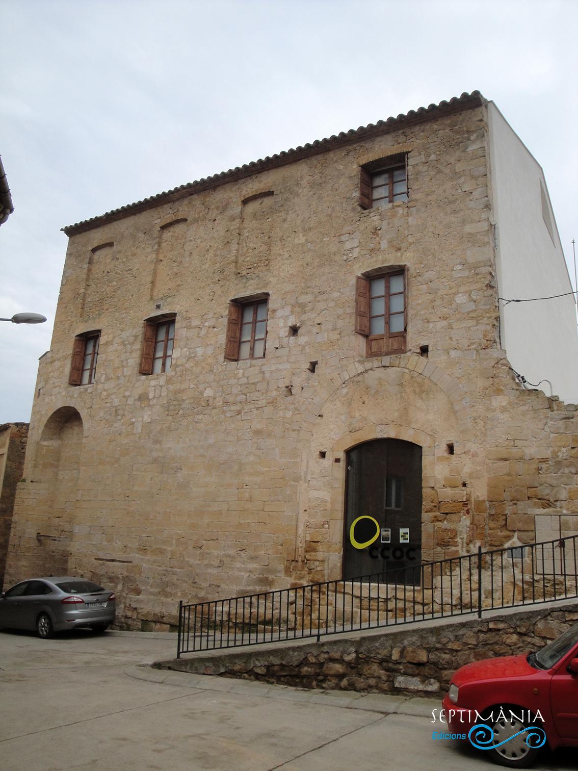 22.04.2019 Primitica església de Santa Maria de Gràcia. De transició del romànic al gòtic. En l'actualitat acull el museu de l'oli.  La Granadella. -  Jordi Bibià