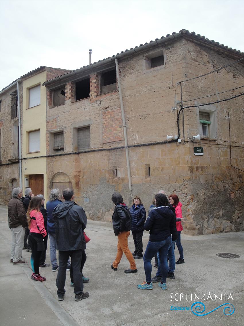 22.04.2019 Part del grup de la visita.  La Granadella. -  Jordi Bibià