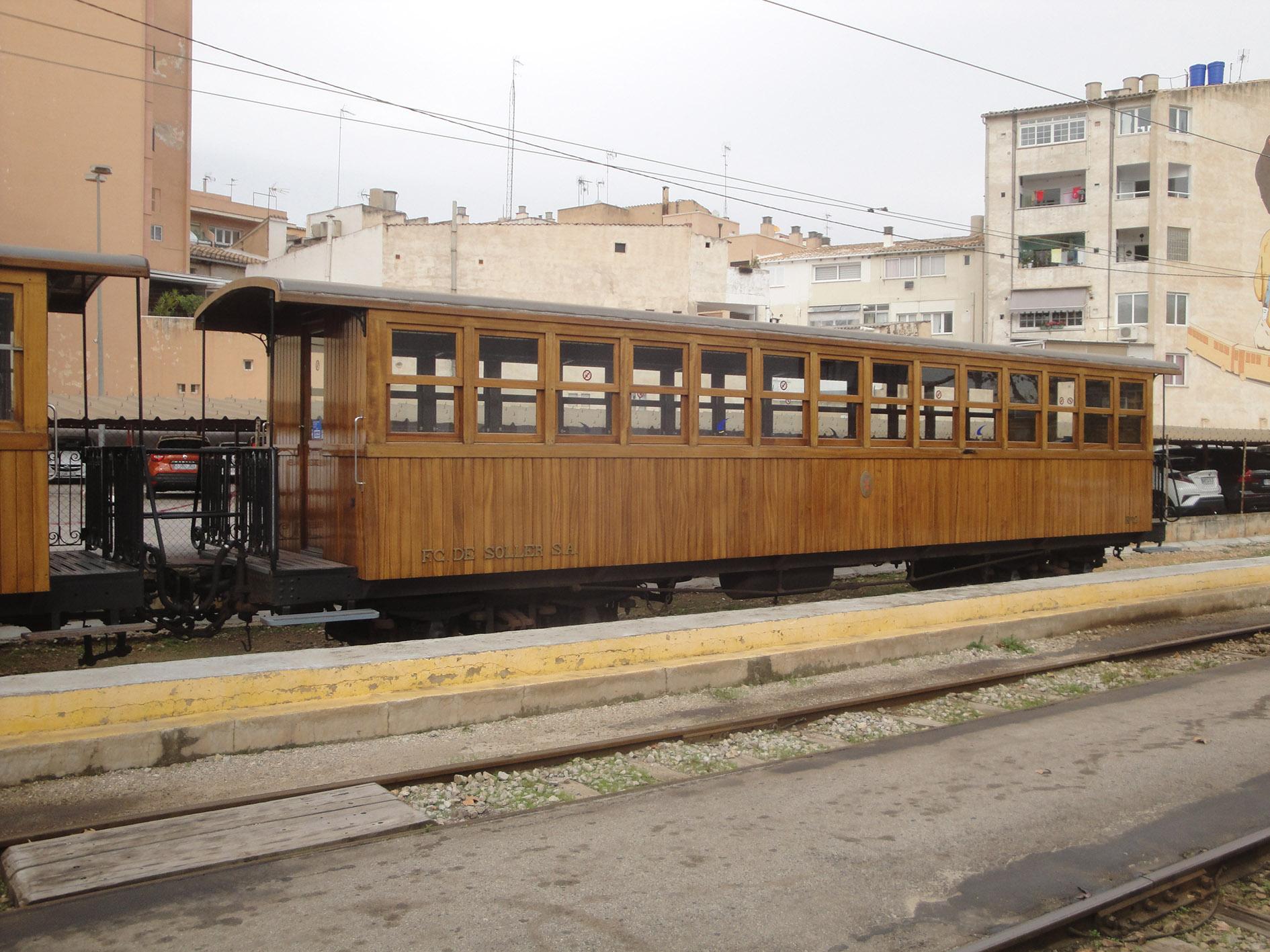 26.12.2019 Tren de Sóller  Palma de Mallorca -  Jordi Bibià