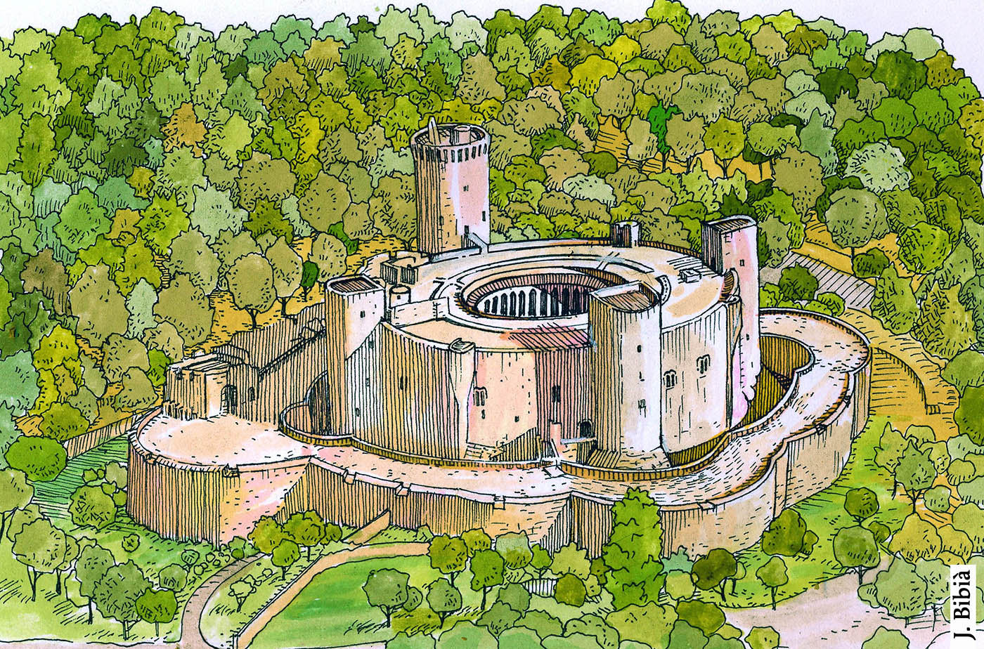 15.02.2020 Castell de Bellver (1300-1311).  Mallorca -  Jordi Bibià