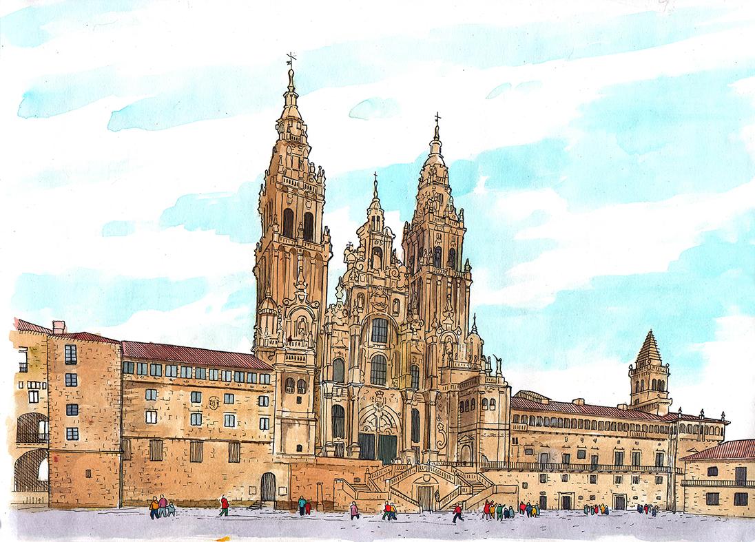 22.08.2020 Peregrinacions forçades.  Sant Jaume de Galícia -  Jordi Bibià