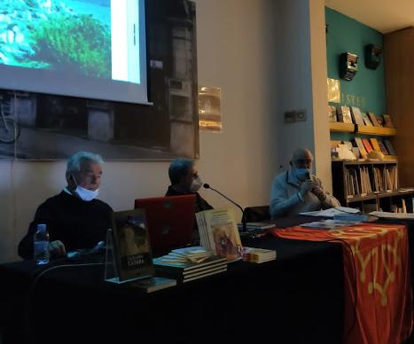 18.03.2021 Bartolomé Bioque, J.L. Soler i Jaume Cluet.  -  Rosa Maria Maya (CAOC)