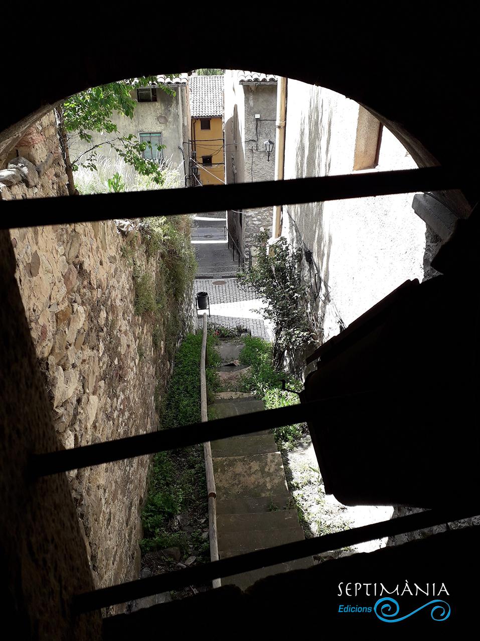 30.05.2021 Una mirada dels carrerons des del castell.  -  J. Bibià